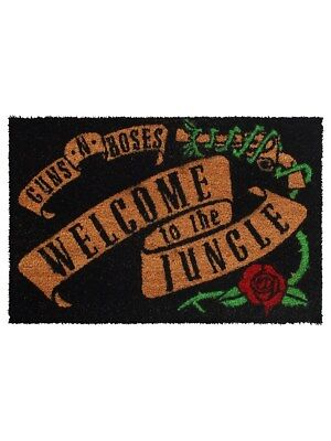 Guns N' Roses Welcome To The Jungle Door Mat 40x60cm
