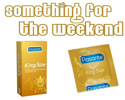 Pasante Condoms King Size XL Large Lubricated 1 To 144 - 2023 Expiry Dates