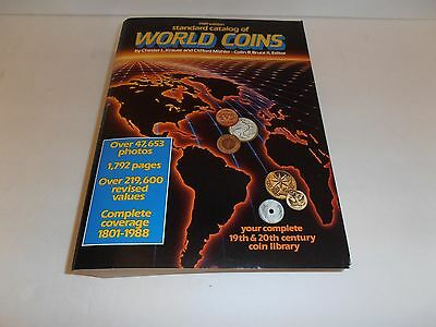 Standard Catalog of World Coins 1989 Edition by Krause & Mishler