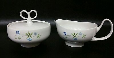 2pc Informal Iroquois Inheritance China Ben Siebel sugar & creamer Knollwood