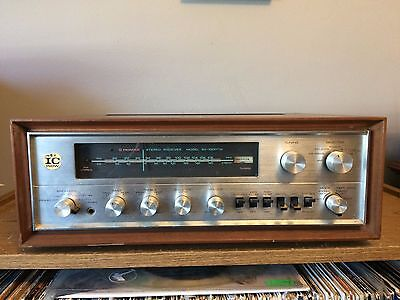 Vintage Pioneer SX-1000TW Stereo Receiver w/ Wood Case AUX works but NO FM