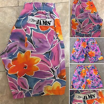 Vintage Surf Line ORIGINAL JAMS Shorts 80s Surf Line Hawaii Made In USA L