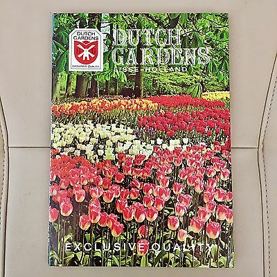 Vtg Dutch Gardens Holland Exclusive Quality Catalog Flowers Tulips Bulbs