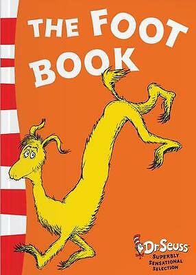 NEW The Foot Book by Dr Seuss - Blue Back Book