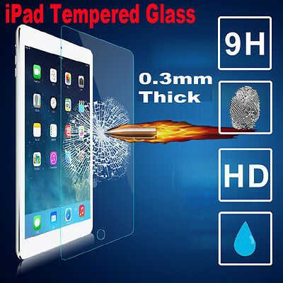 """New Tempered Glass Screen Protector For iPad 4 3 2 Air 2 1 Mini 3 2 1 Pro 9.7"""""""