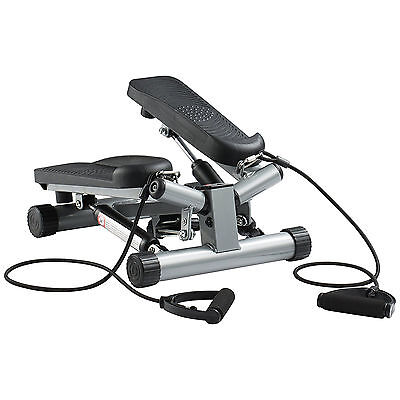 Ultrasport Swing Stepper with Resistance Cords Adjustable Home Workout New