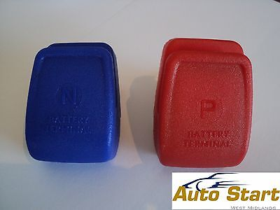 Two Heavy Duty Quick Release Battery Terminal Clamps Caravans Motorhomes Boats