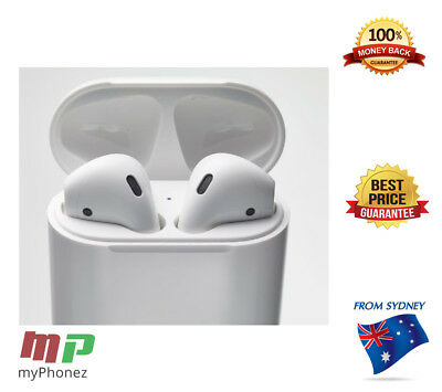 Apple AirPods Bluetooth Wireless Earphones Air Pod for iPhone 6/7 Aussie Stock
