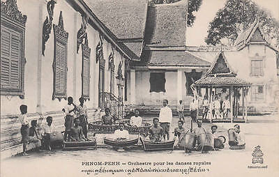 Cambodge Orchestre pour les danses royales Indochine Cambodia Indochina Asie