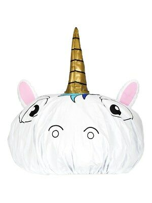 NPW London Unicorn White Shower Cap