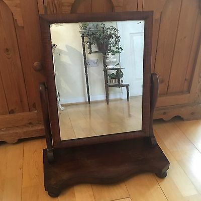Victorian Mahogany Swing Mirror Dressing Table mirror POSSIBLE DELIVERY
