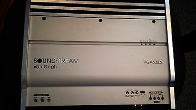 Soundstream van gogh vga600.2 old school made in USA