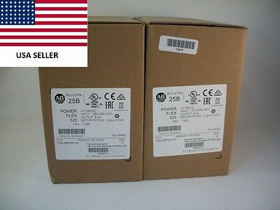 *Ships Today* 2017 Allen Bradley 25B-D6P0N104 Power Flex 525 Drive New 3HP