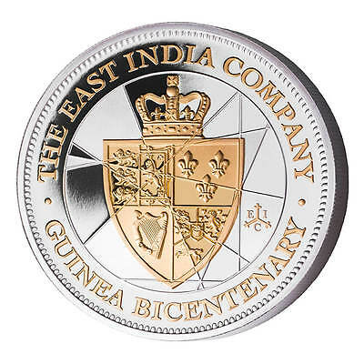2016 East India Company St Helena 50 Pence 5 oz Silver Proof Coin low mintage!