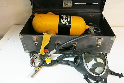 Scott Air Pak Ii With Regulator, Steel Tank And Full Face Mask Scba
