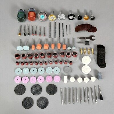 169Pc Electric Rotary Tool Attachment Drill Grinder Grinding Sanding Accessories