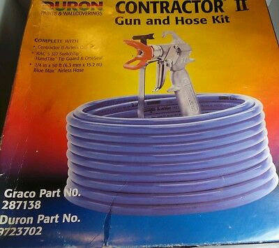 Graco Contractor Gun And Hose Kit - RAC 5 New/Unopened