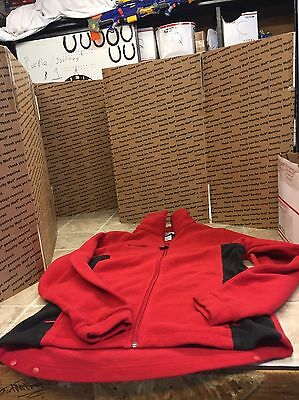 Columbia Fleece Zip Up Red Youth 18/20 Red