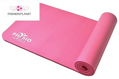 PhysioWorld Exercise Mat 10mm Pink