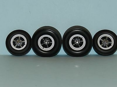 GMP 1/18 Drag Wheel And Tyre Set Great for diorama or rebuilds