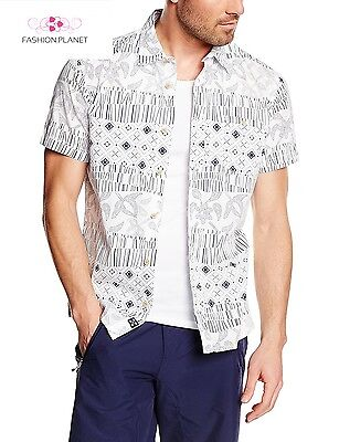 Oxbow Clagen Chemise Homme Blanc FR M Taille Fabricant