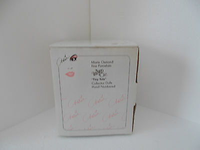 Marie Osmond Empty Box for 'Baby Cowardly lion', Tiny Tot wizard of Oz Series.