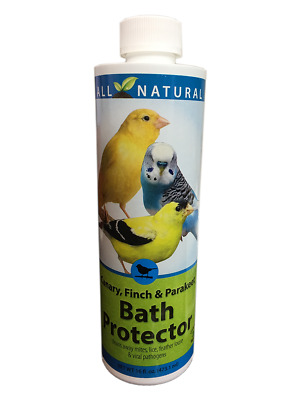 16 oz Care Free Enzymes Canary, Finch & Parakeet Bath Protector 94003
