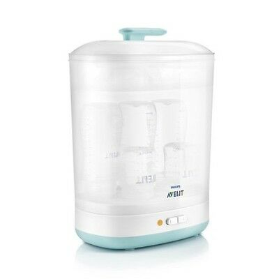 Philips AVENT Natural Cleaner Baby Electric Steam Steriliser Wide Bottles 2-in-1