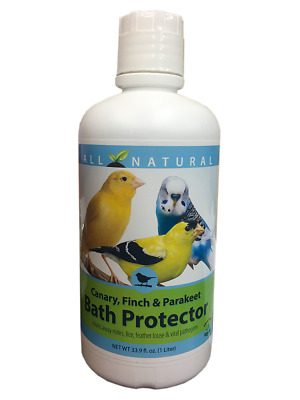 33.9 oz Care Free Enzymes Canary, Finch & Parakeet Bath Protector 94004