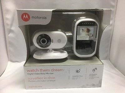 Motorola MBP18 Digital Wireless Video Baby Monitor with 1.8-In Color LCD Screen