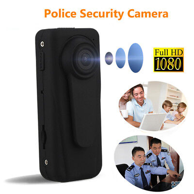AU! Police Camera Body Security Guard Recorder Camera FHD 1080P Motion Detection