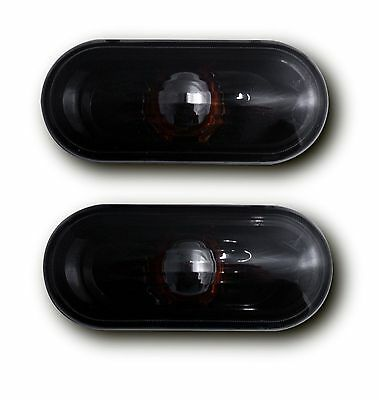 Seat Ibiza Mk5 6J (08-17) Side Indicator Repeaters - Crystal Black