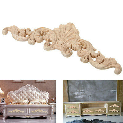 Pop Woodcarving Decal Furniture Carved Applique European Background Ornament 1PC