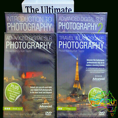 Digital SLR Photography Karl Taylor The Ultimate 'Masterclass' Collection dvd's