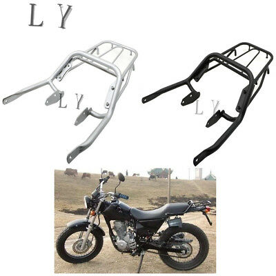Rear Rack Luggage Shelf Cargo Tail Holder For Honda Retro FTR223 FTR 223 Silver