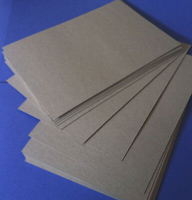 Chipboard / Boxboard A5 Size Pack of 20 Sheets  1.2mm thick