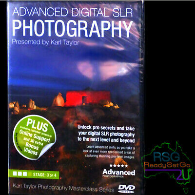 Advanced Digital SLR Photography Karl Taylor 'Masterclass' Series dvd