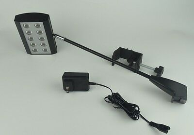 25W LED Exhibit Arm Light (Black)For Trade Show