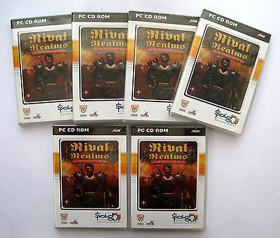 6 x Rival Realms PC Games Wholesale Lot ***New & Sealed - Clearance Stock****