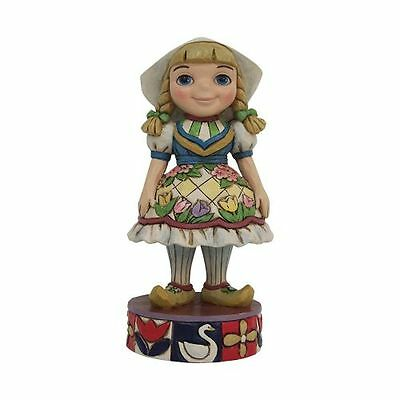 New Enesco Disney Traditions Small World Holland Figurine