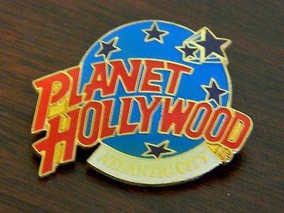Vintage Planet Hollywood Atlantic City Pin ! RARE !