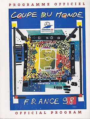 France 98 World Cup Programme