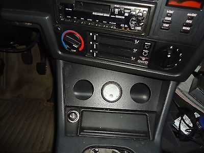 BMW E30 (1984-1991) Gauge Holder By Ash Tray: 3-52mm