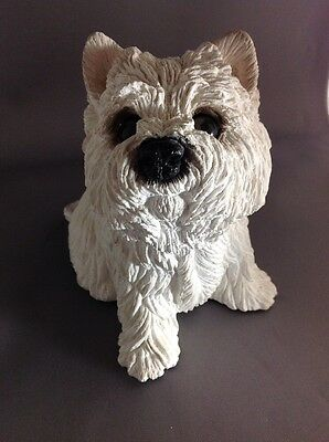 Classic Critters Westie West Highland White Terrier Dog Figurine 1984 USA