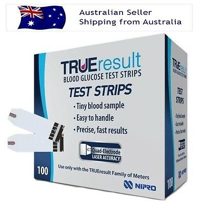 True Result Test Strips 100 (Exp:12/18)
