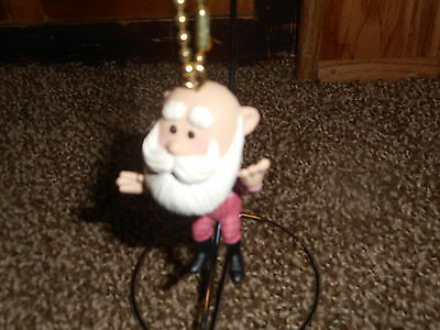 Rudolph and the Island of Misfit Toys Santa in Suspenders Keychain