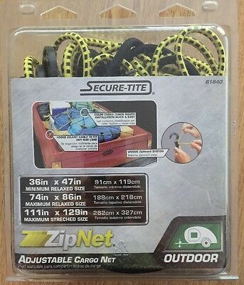 New 3-ft Rubber Core Plastic Hook Bungee Cord It fits all pickup-truck beds