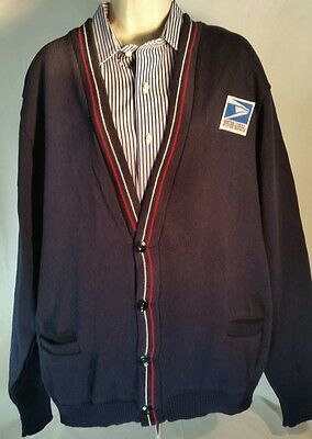 United States Post Office USPS Cardigan Uniform Sweater NEW Unisex Size Large