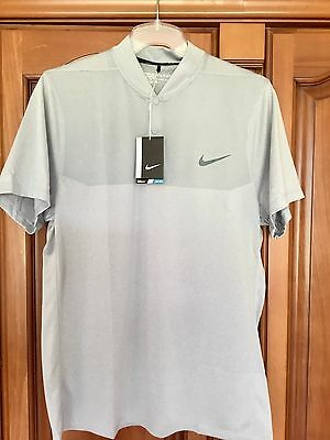 Nike advantage modern fit grey golf polo shirt bnwt size Modern fit golf shirt