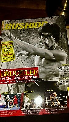 Bruce lee .special french mag  Karate  bushido  Jan 2016. New. reduced.last 1.